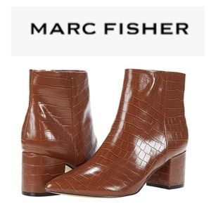 Marc Fisher Snakeskin Boots
